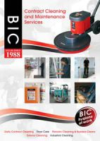 BIC plc brochure front cover